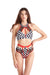 Hamade Activewear Strappy High Waisted Bottoms - Checkered Print-Hamade Activewear-Pole Junkie
