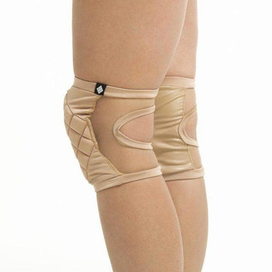Poledancerka Knee Pads - Nude 01 (with Pocket)-Poledancerka-Pole Junkie