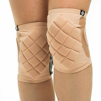 Poledancerka Knee Pads - Powder 00 (with Pocket)-Poledancerka-Pole Junkie