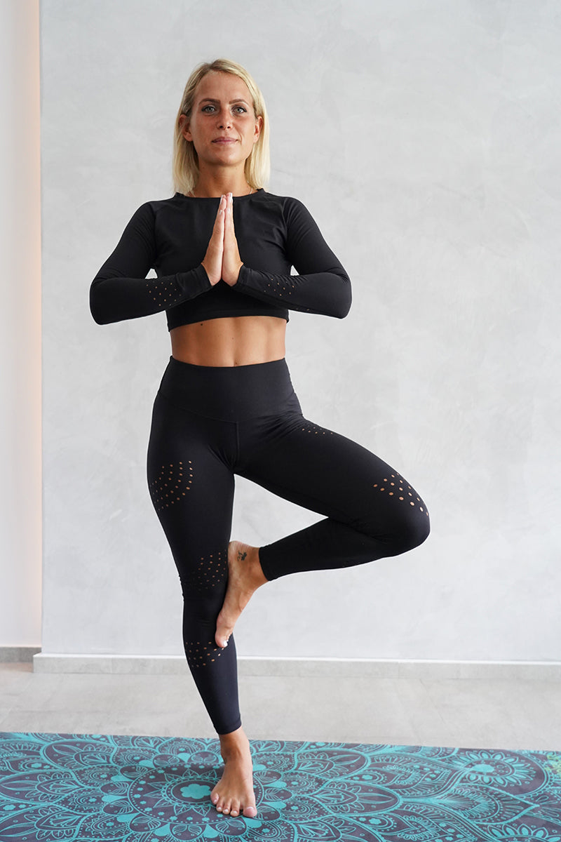 Off The Pole Luxe Leggings - Black-Off The Pole-Pole Junkie