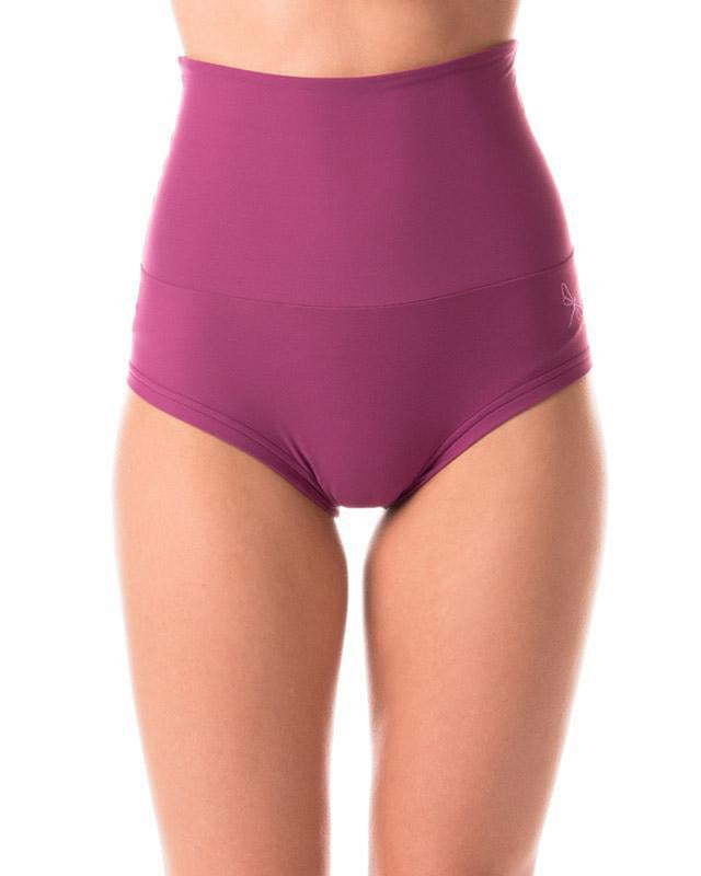 Dragonfly Betty High-Waisted Shorts - Ruby-Dragonfly-Pole Junkie