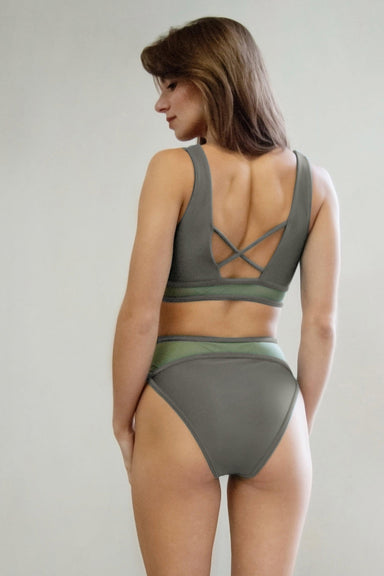 Pole Addict Land Bottoms - Khaki-Pole Addict-Pole Junkie