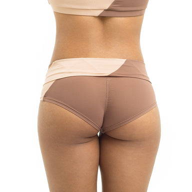 Movement High-Low Shorts - Powder 00/Nude 02-Poledancerka-Pole Junkie