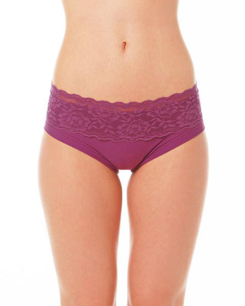 Lace Edition Mia Shorts - Ruby