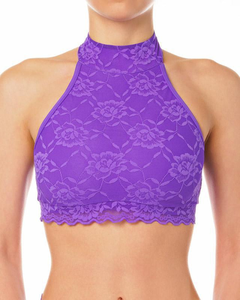 Lace Edition Lisette Top - Violet-Dragonfly-Pole Junkie