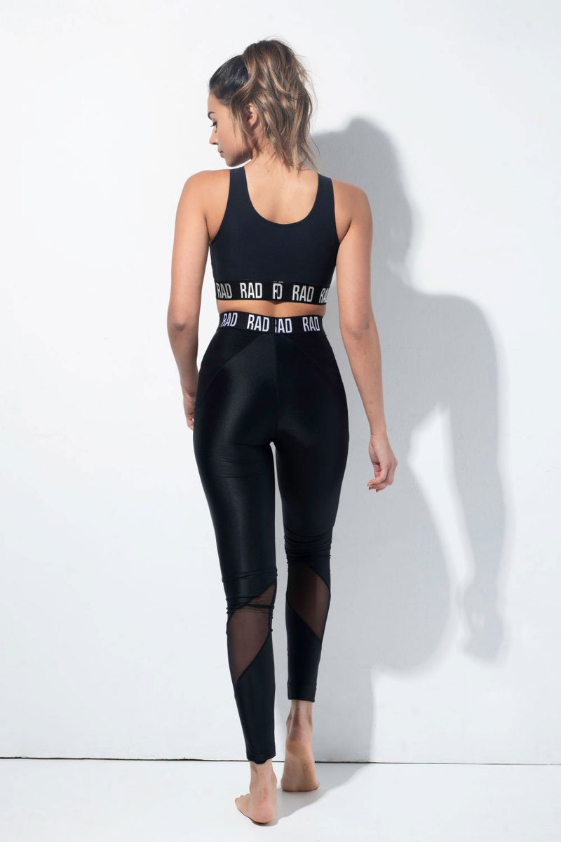RAD Nina Leggings - Black-RAD-Pole Junkie