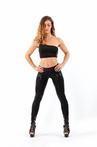 Superhero Series Sticky Leggings - Leopard-Paradise Chick-Pole Junkie