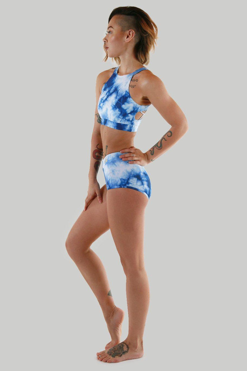 Creatures of XIX Nyx High Waisted Bottoms - Storm-Creatures of XIX-Pole Junkie