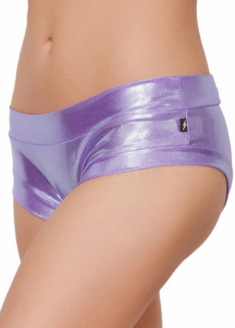 Metallic Hot Pants (5 Colours)-Cleo the Hurricane-Pole Junkie