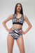 Pole Addict High Waisted Shorts - Zebra-Pole Addict-Pole Junkie