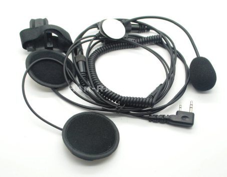 Helmet Headset for Baofeng Radios