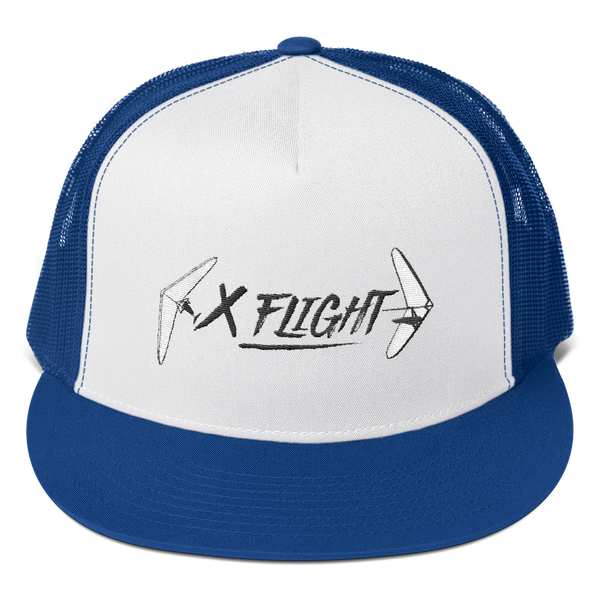 X-Flight Trucker Cap w/ Mesh Back