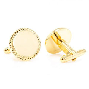 Dress to Impress With Monogrammed Cufflinks
