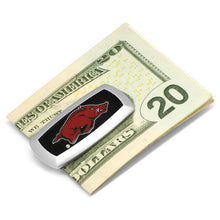 Arkansas Razorbacks Cufflinks and Cushion Money Clip Set