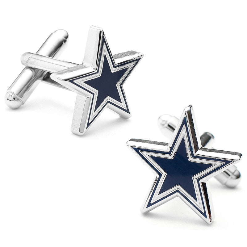 Dallas Cowboys Cufflinks and Cushion Money Clip Gift Set