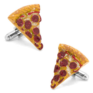 3D Pizza Slice Cufflinks