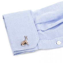 Handcrafted Italian Jack Rabbit Cufflinks