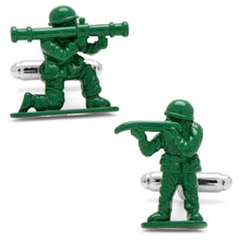 Green Army Men Cufflinks