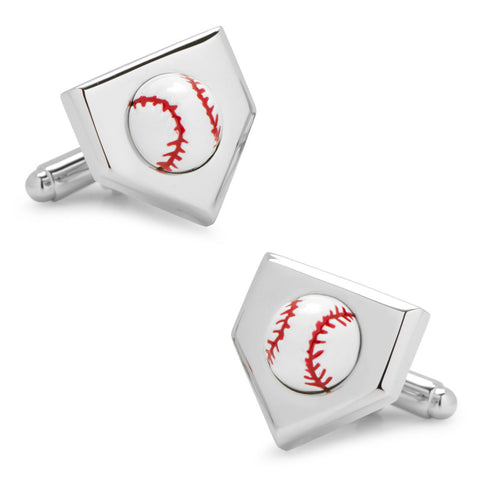 Washington Nationals Cufflinks and Tie Bar Gift Set
