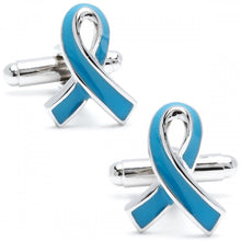 Prostate Cancer Awareness Ribbon Cufflinks