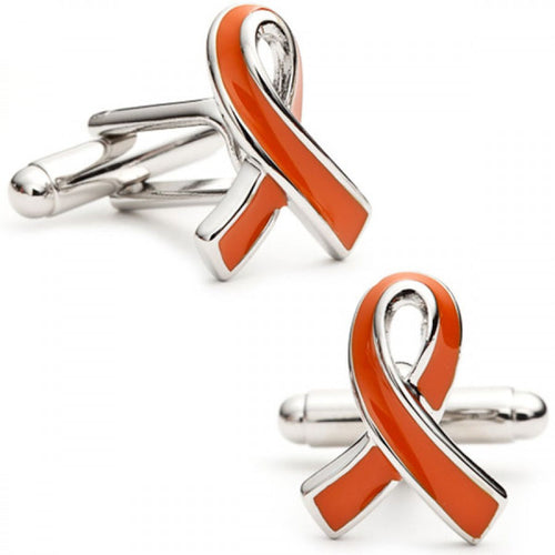 Leukemia Awareness Ribbon Cufflinks