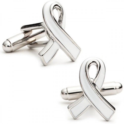 Fight Against Hunger Awareness Ribbon Cufflinks