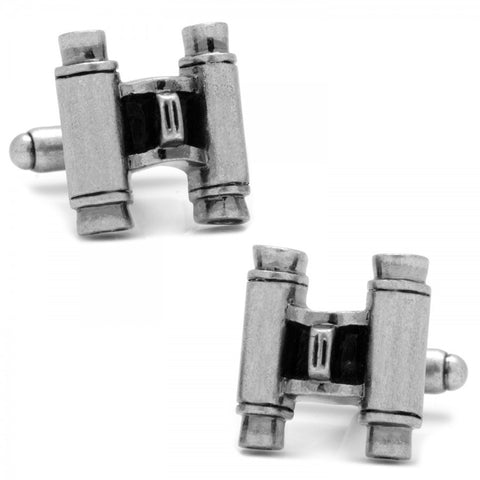 Polka Dot Jockey Silk Cufflinks