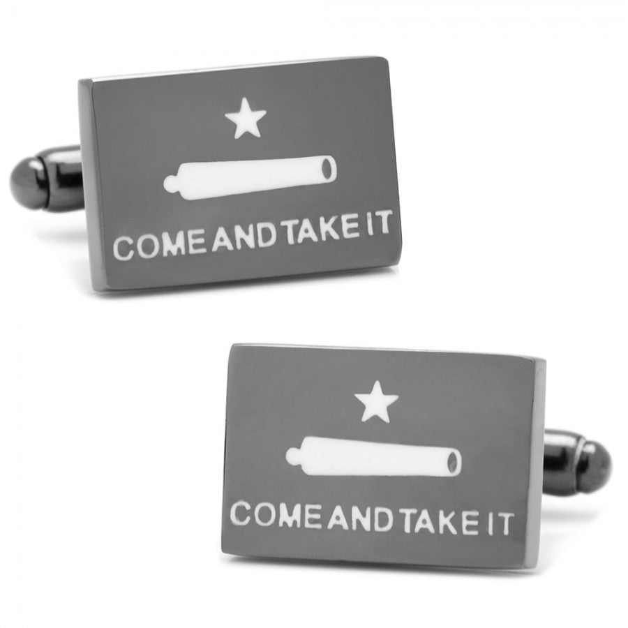 Come and Take It Texas Cufflinks