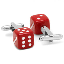Red Dice Cufflinks