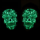 Glow-in-the-Dark Day of the Dead Cufflinks