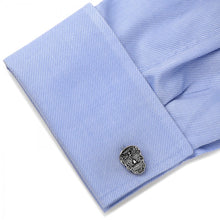 Silver Day of the Dead Cufflinks