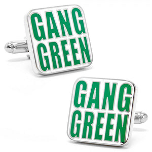 "Jets ""Gang Green"" Cufflinks"