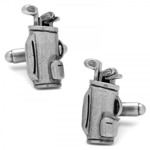 Sterling Vintage Golf Driver Cufflinks