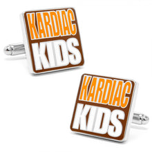 "Browns ""Kardiac Kids"" Cufflinks"