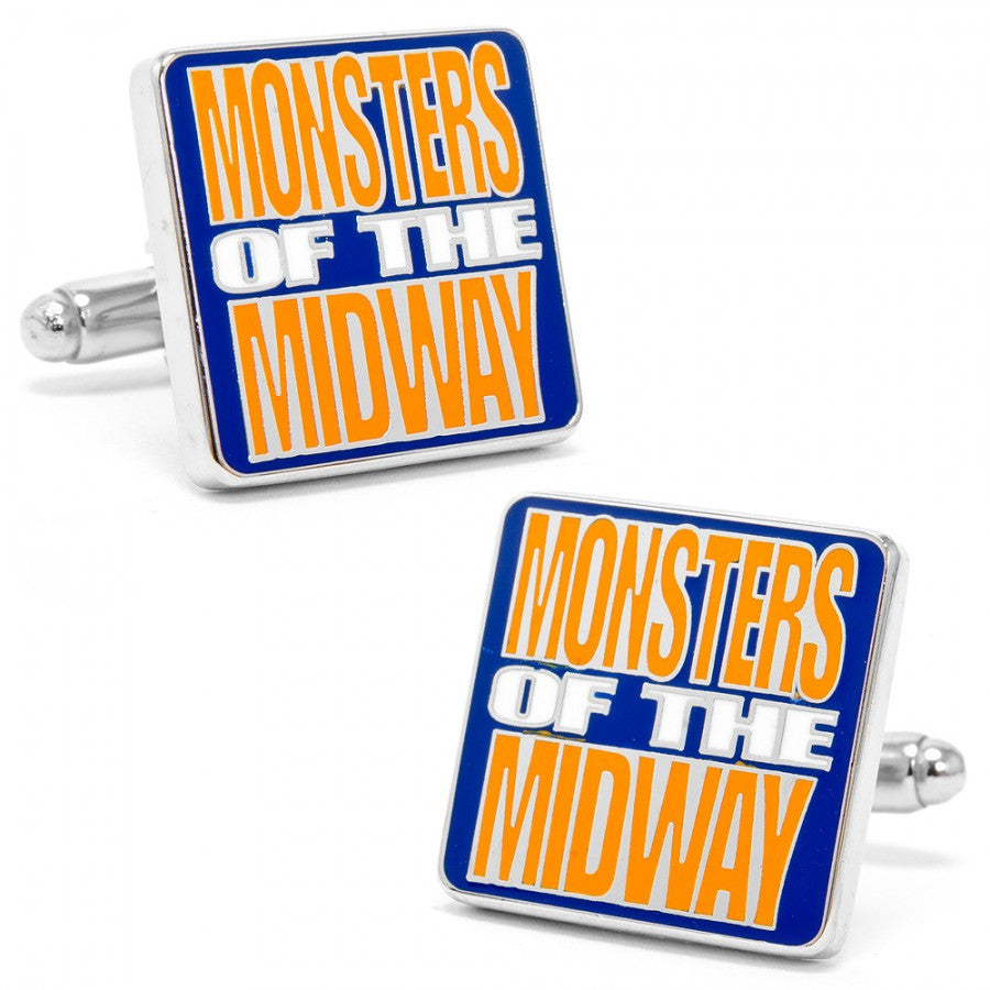 "Bears ""Monsters of the Midway"" Cufflinks"