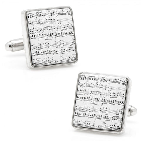 Bullet the Blue Sky Record Cufflinks