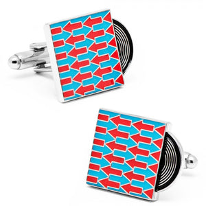 My Way Record Cufflinks