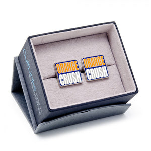 "Broncos ""Orange Crush"" Cufflinks"