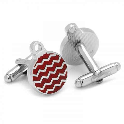 Red Ornaments Cufflinks