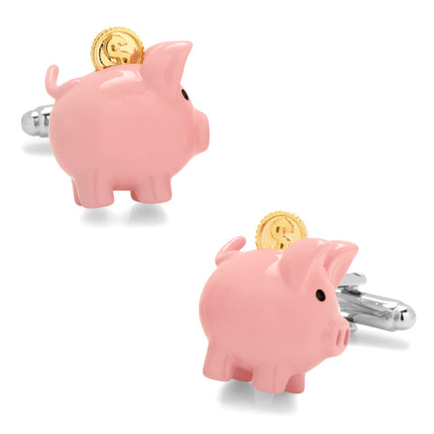 Party Animal Dog Cufflinks