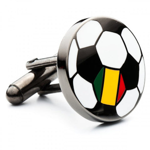 France Soccer Flag Cufflinks