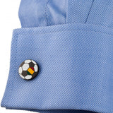 Portugal Soccer Flag Cufflinks