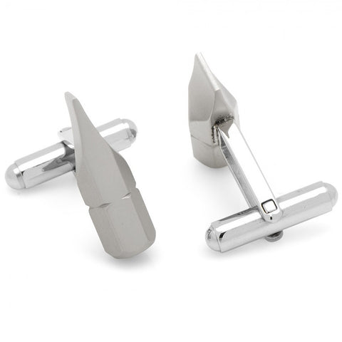 Flathead Screwdriver Bit Cufflinks