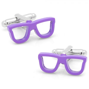 Cool Cut Purple Shades Cufflinks