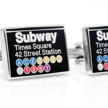 Time Square Subway Sign Cufflinks