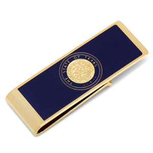 State of Texas Seal Money Clip
