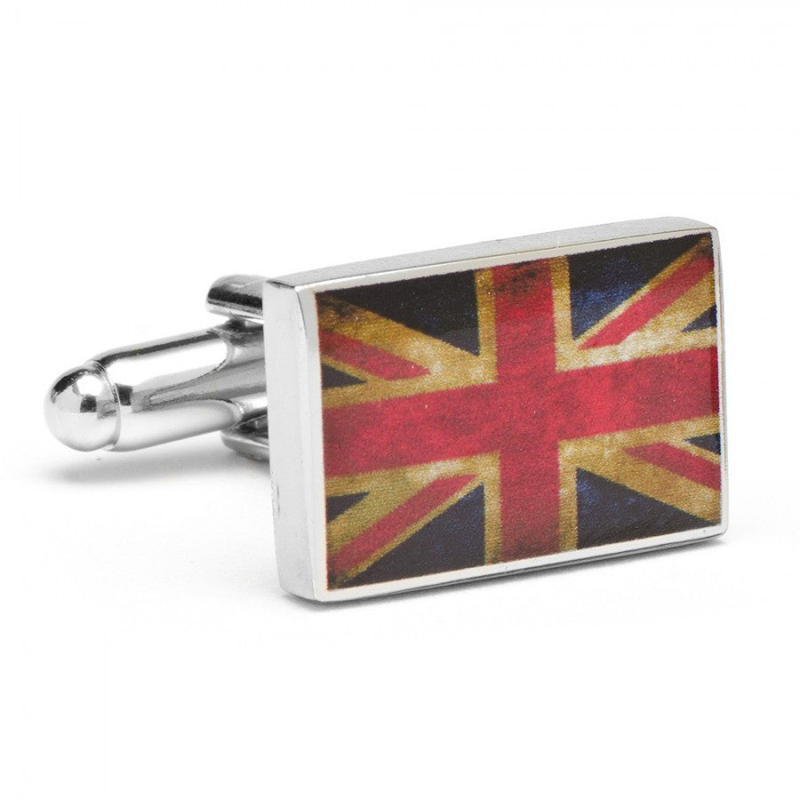 Vintage Union Jack Flag Cufflinks