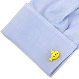 3D Yellow Submarine Cufflinks