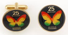 Philippines Butterfly Coin Cufflinks