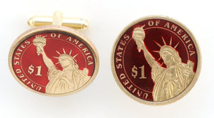 New Dollar (Tail) Coin Cufflinks